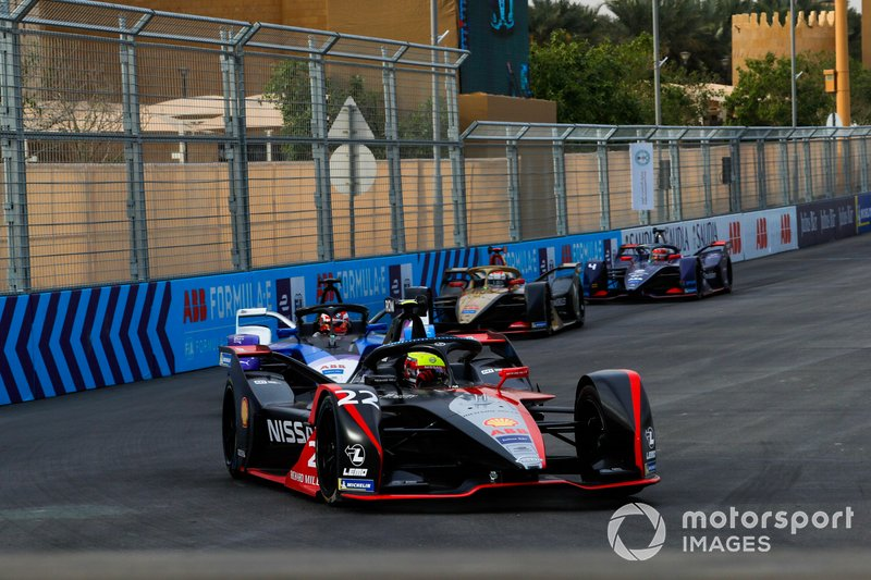 Oliver Rowland, Nissan e.Dams, Nissan IMO2 Maximilian Gunther BMW I Andretti Motorsports, BMW iFE.20, Jean-Eric Vergne, DS Techeetah, DS E-Tense FE20