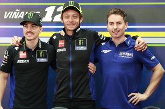 Maverick Vinales, Yamaha Factory Racing, Valentino Rossi, Yamaha Factory Racing, mit Jorge Lorenzo