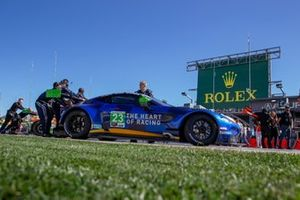 #23 Heart Of Racing Team Aston Martin Vantage GT3: Roman De Angelis, Ian James, Alex Riberas, Nicki Thiim