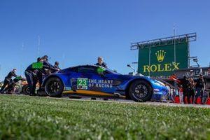 #23 Heart Of Racing Team Aston Martin Vantage GT3: Roman De Angelis, Ian James, Alex Riberas, Nicki Thiim