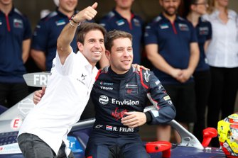 Antonio Felix da Costa, DS Techeetah con Robin Frijns, Virgin Racing