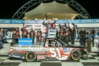 Ganador: Kyle Busch, Kyle Busch Motorsports, Toyota Tundra