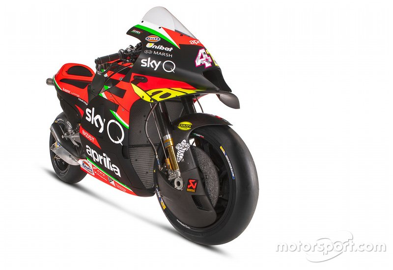 Moto de Aprilia Racing Team Gresini