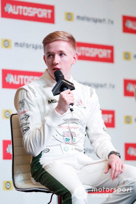 2019 Aston Martin Autosport BRDC Young Driver Award winner Jonathan Hoggard