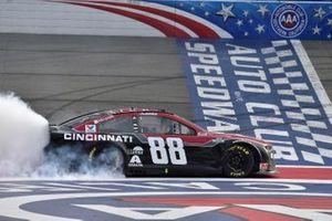 1. Alex Bowman, Hendrick Motorsports, Chevrolet Camaro Cincinnati