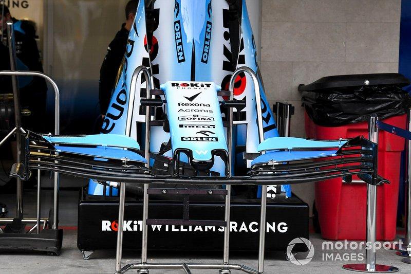Alerón delantero del Williams FW42