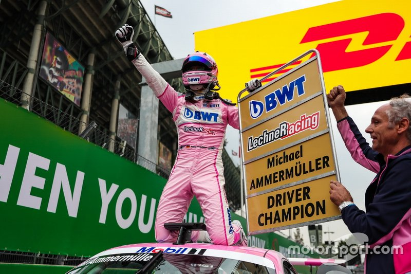 Champion Michael Ammermüller, BWT Lechner Racing