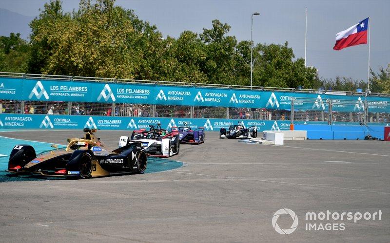 Antonio Felix da Costa, DS Techeetah, DS E-Tense FE20 Andre Lotterer, Porsche, Porsche 99x Electric