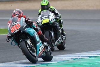 Fabio Quartararo, Petronas Yamaha SRT, Cal Crutchlow, Team LCR Honda