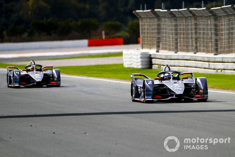 Sam Bird, Envision Virgin Racing, Audi e-tron FE06, Robin Frijns, Envision Virgin Racing, Audi e-tron FE06
