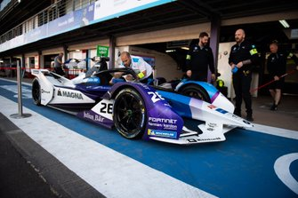 Prove di pit stop Maximilian Günther, BMW I Andretti Motorsports, BMW iFE.20