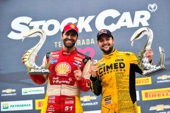 Átila Abreu e Felipe Fraga comemoram vitórias em Cascavel