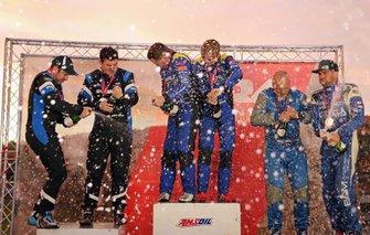 Lake Superior Performance Rally podium