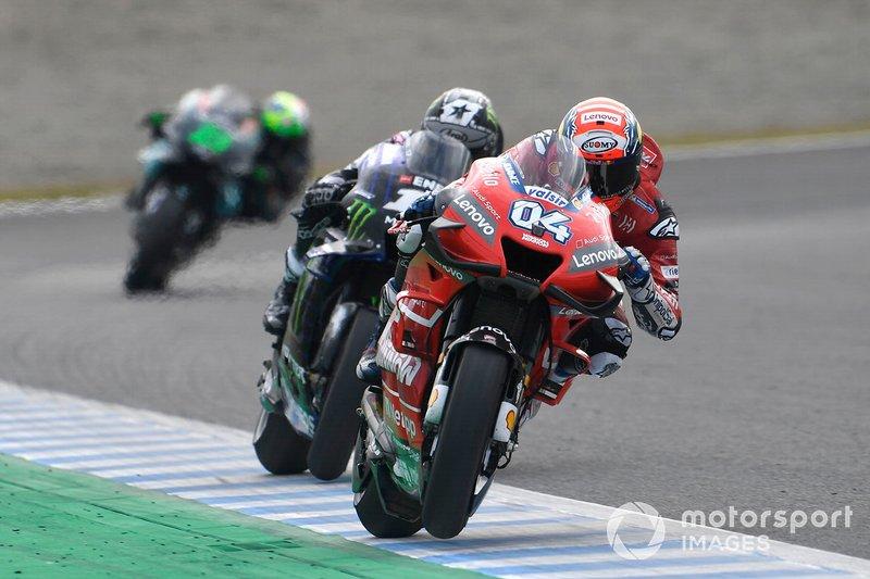 Благодаря прорыву Довициозо в конце гонки подиум в Мотеги получился самым плотным в истории этой трассы (1,325 сек от первого места до третьего). Топ-10 и топ-15 также оказались самыми компактными для MotoGP в Мотеги