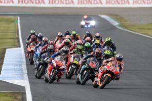 Renn-Action beim GP Japan 2019 in Motegi: Marc Marquez, Repsol Honda Team, führt