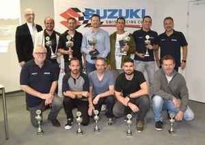 Remise des prix Suzuki Swiss Racing Cup 2019