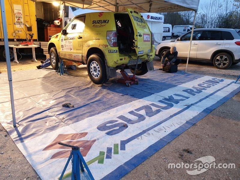 Lorenzo Codecà, Mauro Toffoli, Suzuki Motorsport/Emmetre Racing, Suzuki Gran Vitara