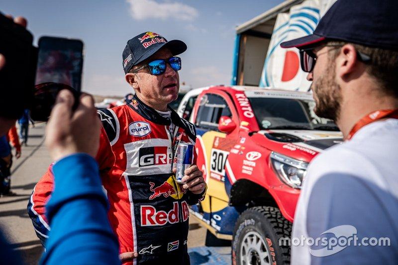 Жиньель де Вильерс, Toyota Gazoo Racing, Toyota Hilux (№304)