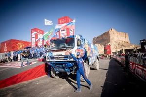 #516 Team KAMAZ Master: Anton Shibalov, Dmitrii Nikitin, Ivan Tatarinov