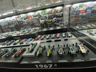 F1 miniature car collection