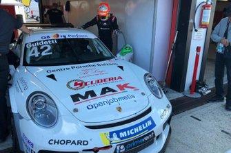Guidetti nel Carrera Cup con Duell Race