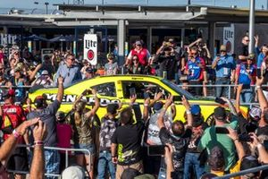 Race Winner: Brandon Jones, Joe Gibbs Racing, Toyota Supra