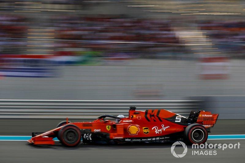 5º: Sebastian Vettel, Ferrari SF90