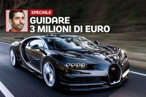 Prova Bugatti Chiron