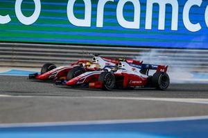 Robert Shwartzman, Prema Racing and Mick Schumacher, Prema Racing battle