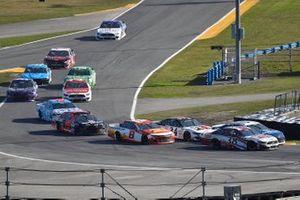 Anthony Alfredo, Front Row Motorsports, Ford Mustang, Tyler Reddick, Richard Childress Racing, Chevrolet Camaro, and James Davison, Rick Ware Racing, Chevrolet Camaro