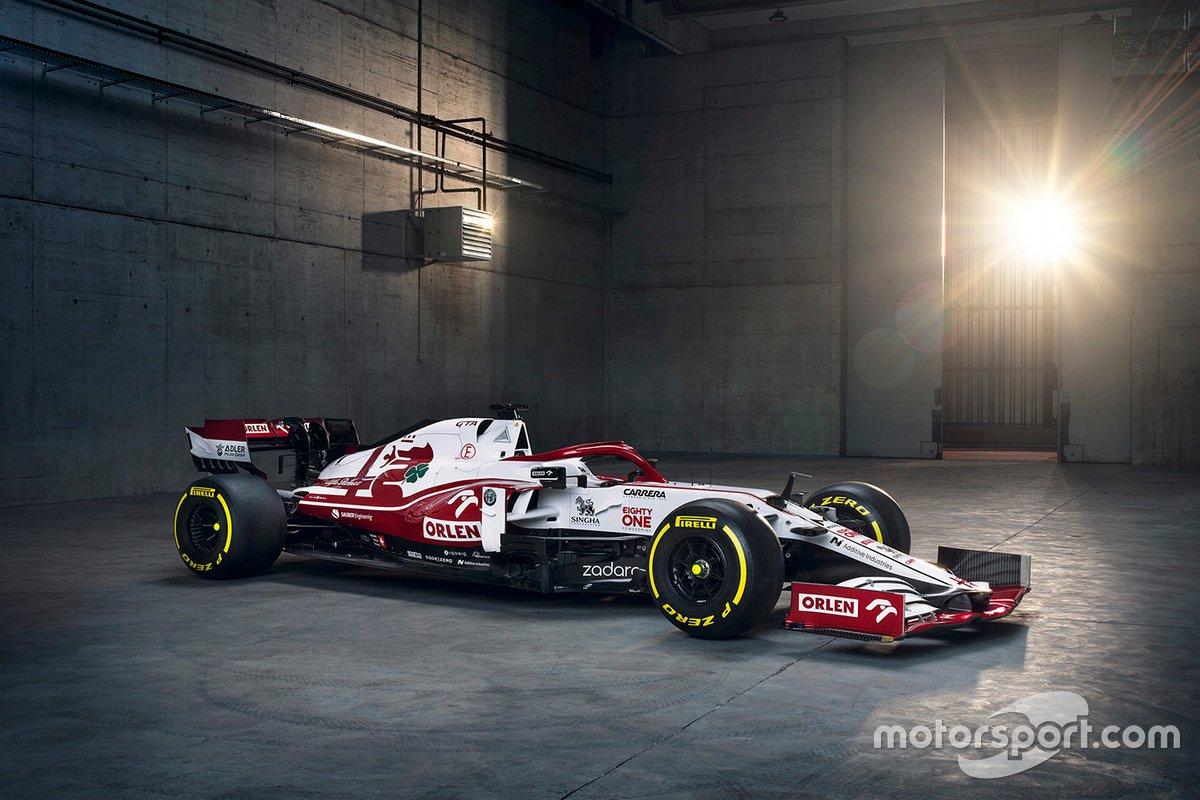2021 : Alfa Romeo C41
