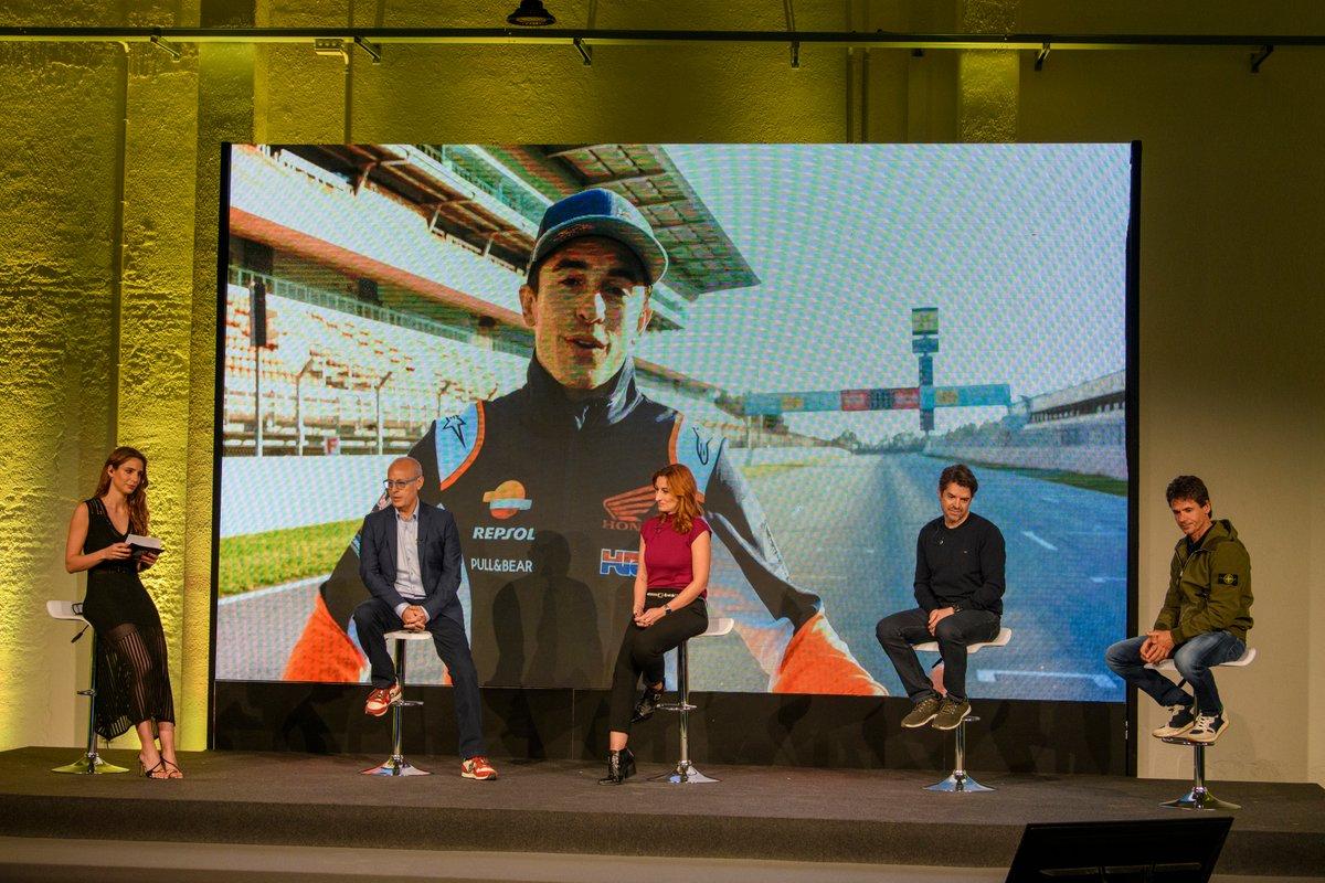 Marc Márquez, en la presentación de DAZN F1 2021