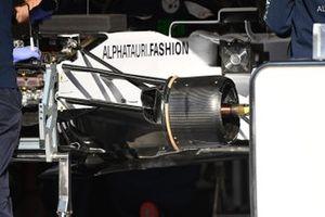 AlphaTauri AT01 front brake detail