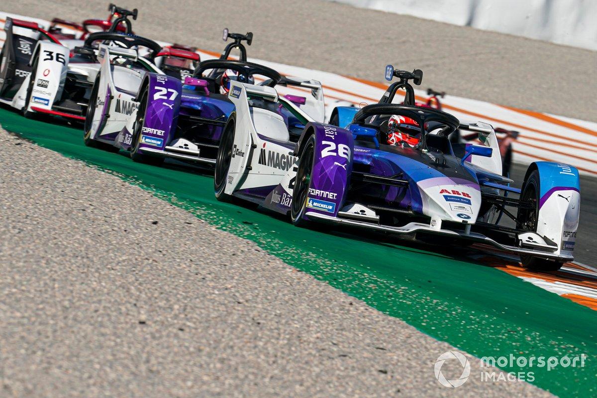 Maximilian Gunther, BMW I Andretti Motorsports, BMW iFE.21, Jake Dennis, BMW I Andretti Motorsport, BMW iFE.21