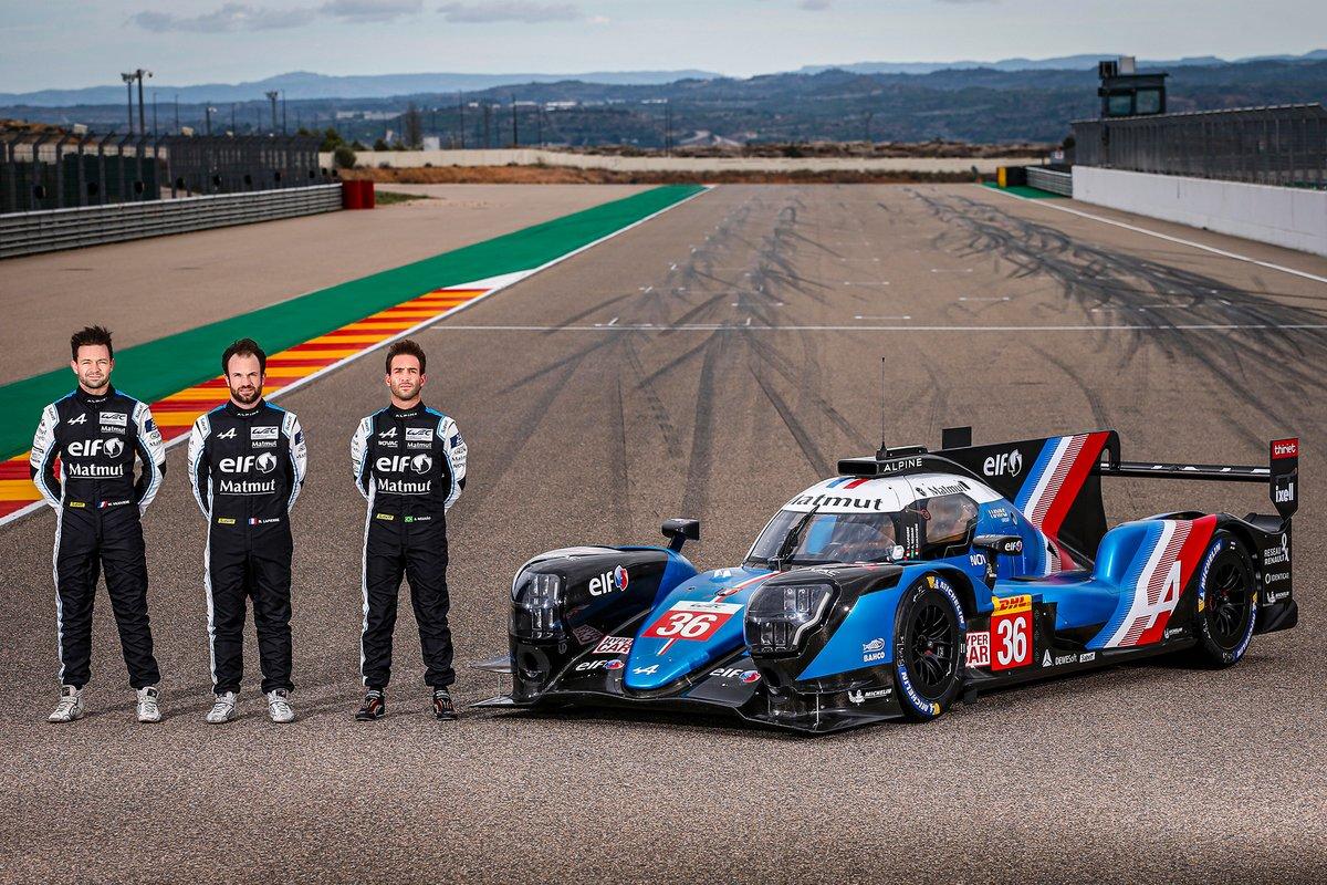 Alpine A480 LMP1 con André Negrão, Nicolas Lapierre, Matthieu Vaxiviere