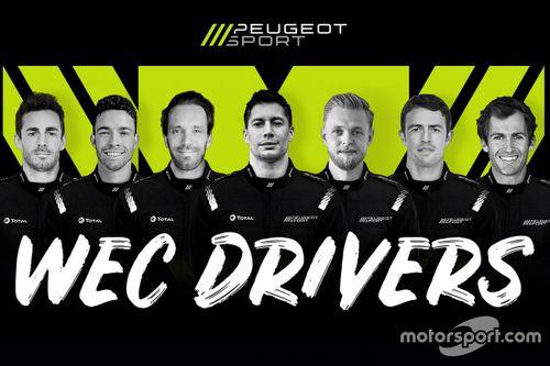 Peugeot drivers unveil