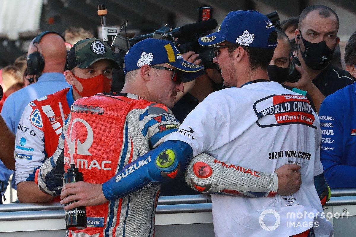 Jack Miller, Pramac Racing Joan Mir, Team Suzuki MotoGP