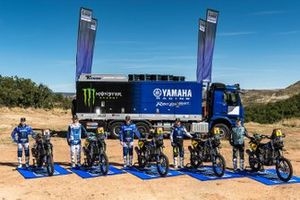 Photo de groupe Monster Energy Yamaha Rally Team