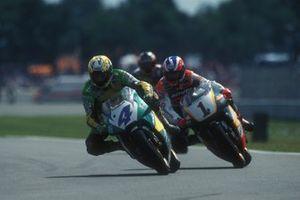 Alex Barros, Honda Gresini, Mick Doohan. Repsol Honda Team