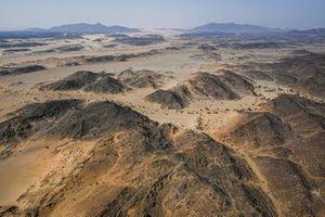 Landscape during the 4th stage of the Dakar 2021 between Wadi Al Dawasir and Riyadh, in Saudi Arabia