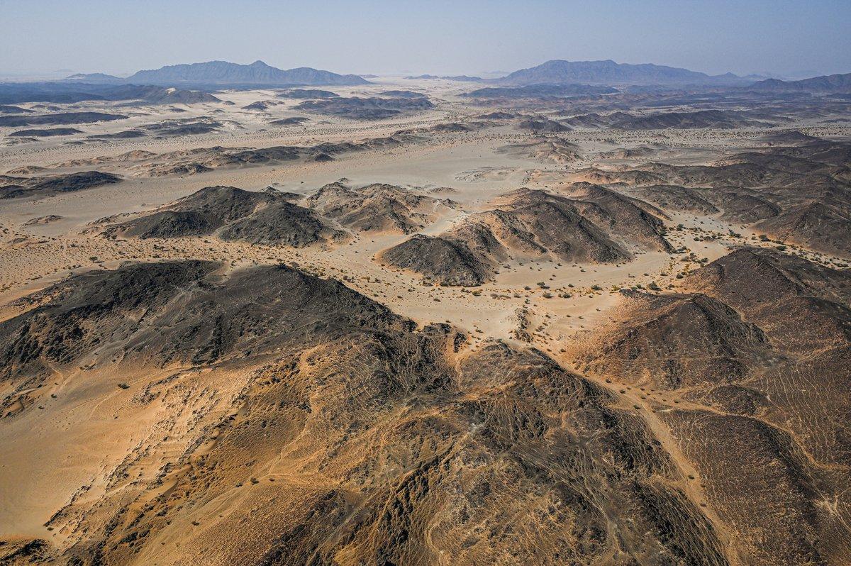 Paisajes de la etapa 4 del Dakar 2021