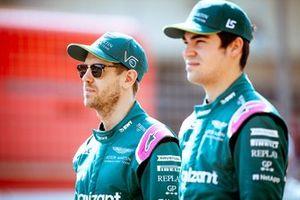 Sebastian Vettel, Lance Stroll, Aston Martin Racing