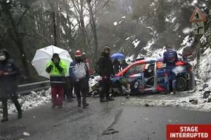 Accidente de Veiby Ole Christian, Andersson Jonas ,Hyundai i20 Coupe WRC, Hyundai 2C Competition