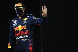 Макс Ферстаппен, Red Bull Racing, второе место, в закрытом парке
