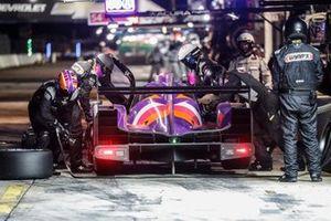 #52 PR1 Mathiasen Motorsports ORECA LMP2 07, LMP2: Pit Stop, Mikkel Jensen, Ben Keating, Scott Huffaker
