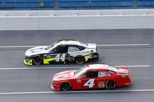 Landon Cassill, JD Motorsports, Chevrolet Camaro TeamJDMotorsports.com, Tommy Joe Martins, Martins Motorsports, Chevrolet Camaro AAN Adjusters