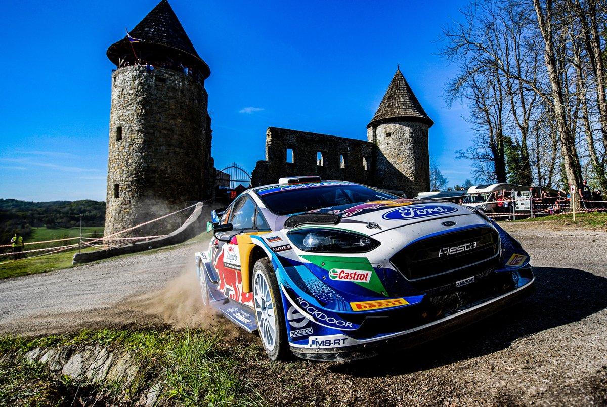 Adrien Fourmaux, Renaud Jamoul, Ford Fiesta WRC, Croacia 2021: 5º