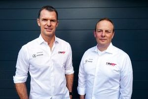 Hubert Haupt, Team principal Haupt Racing y Ulrich Fritz, CEO de Haupt Racing Team GmbH