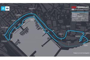 la carte du circuit de Monaco