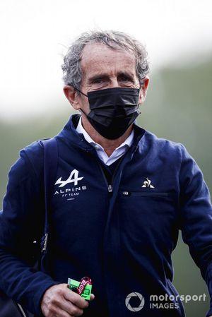 Alain Prost, Alpine F1 Team